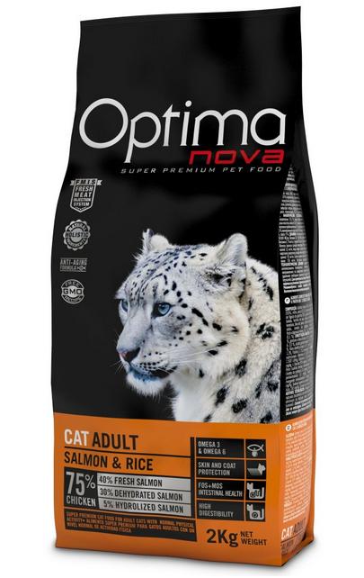 Visán OPTIMA nova Cat Adult Salmon
