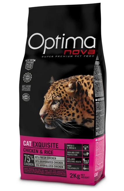 Visán OPTIMA nova Cat EXQUISITE Chicke&Rice