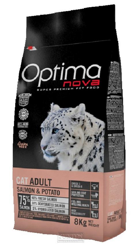 Visán OPTIMA nova Cat GRAIN FREE Salmon