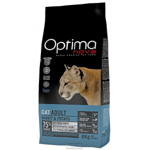 Visán OPTIMA nova Cat GRAIN FREE Rabbit & Potato