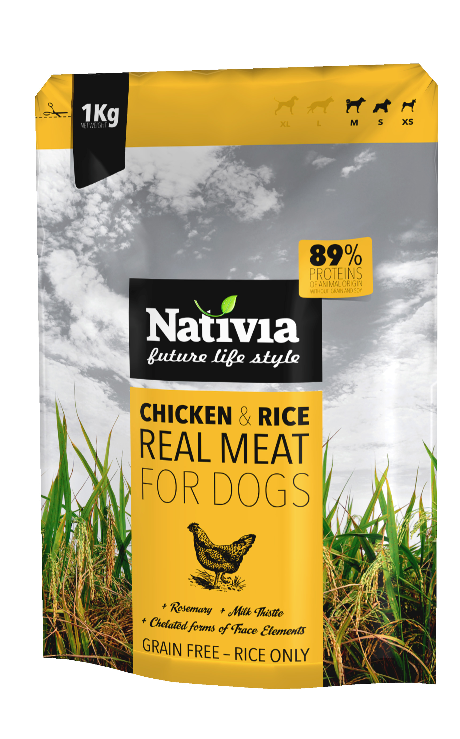 Nativia Real Meat Chicken & Rice