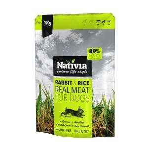 Nativia Real Meat Rabbit & Rice