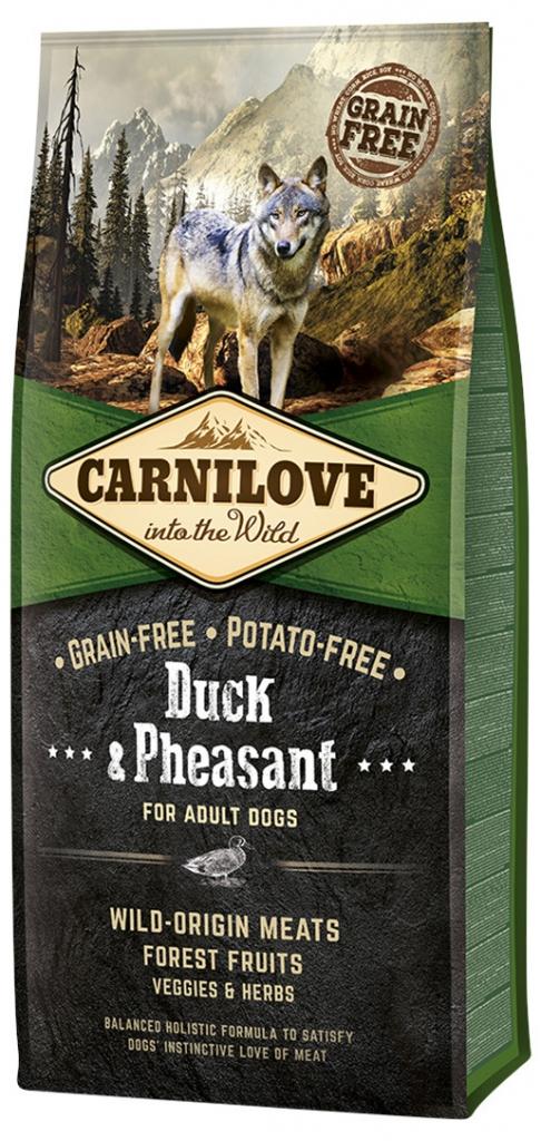Carnilove Duck & Pheasant for Adult (kachna a bažant)