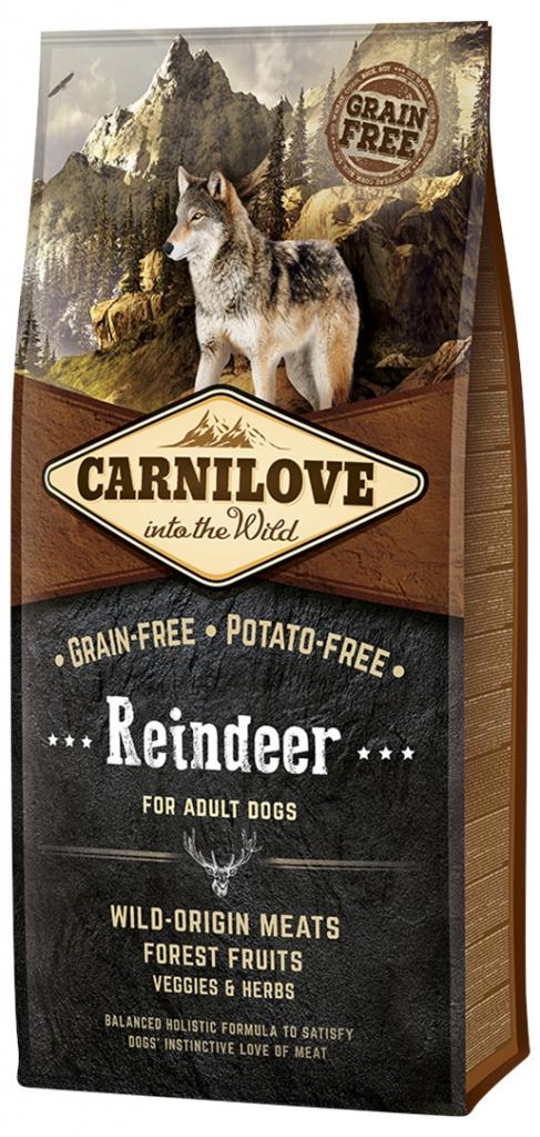 Carnilove Reindeer for Adult (sob)