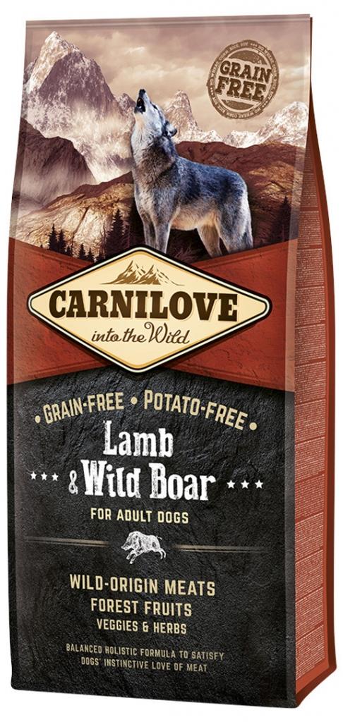 Carnilove Lamb & Wild Boar for Adult (jehně, divočák)
