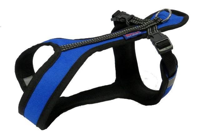 Postroj Zero Short - modro/černý