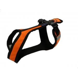 Postroj Zero Short - neon oranžový