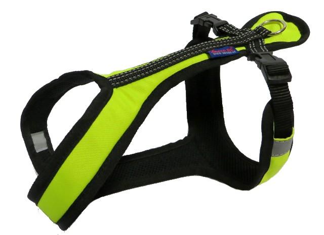Postroj Zero Short - neon zelený