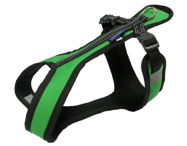 Postroj Zero Short - zeleno/černý