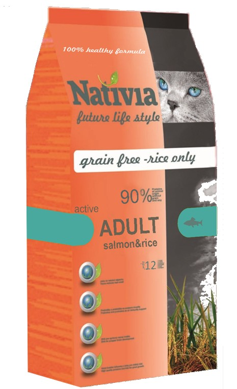 Nativia Adult Salmon&rice active