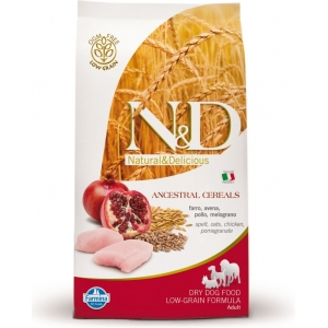 N&D LG Dog Adult Maxi Chicken & Pomegranate (kuře a granátové jablíčko)