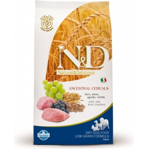 N&D LG Dog Adult Mini Lamb & Blueberry (jehně a borůvky)