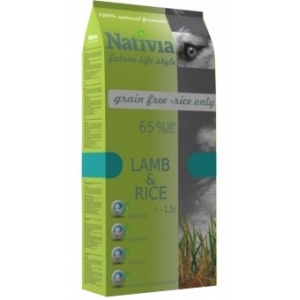 Nativia Adult Lamb&Rice