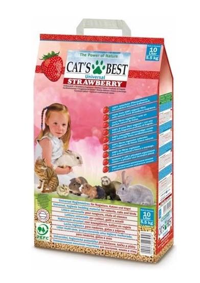 Cat´s Best Universal Strawberry - s jahodovou vůní