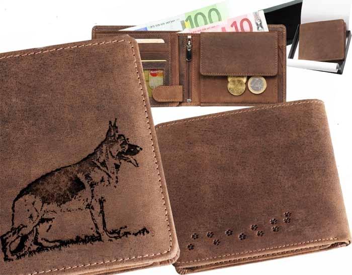 Peněženka pánská - Německý ovčák 2 (040)