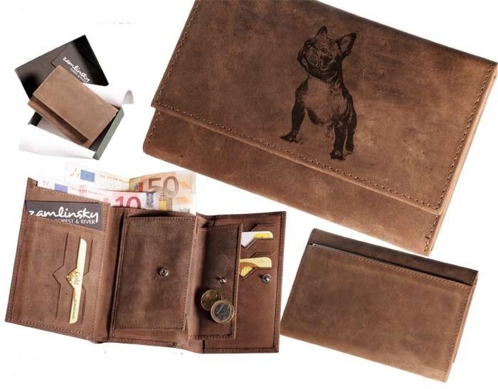 Peněženka dámská - Francouzský buldoček (009)