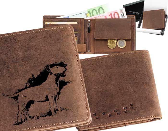 Peněženka pánská - Bulterier (040)