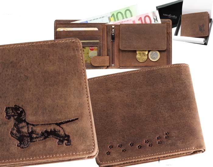 Peněženka pánská - Jezevčík 4 (040)
