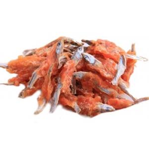 Rybičky sušené obalené kuřecím masem