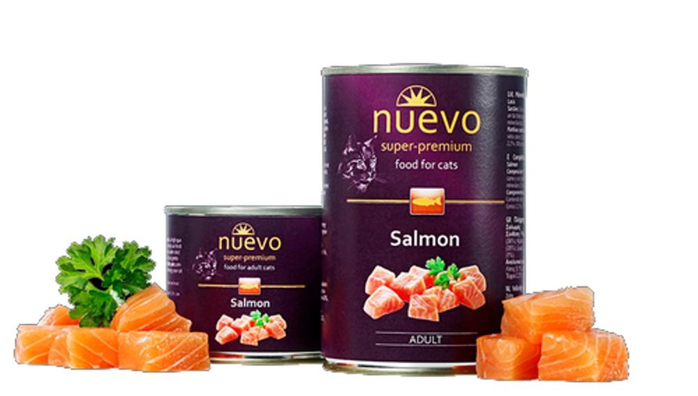 Nuevo Cat Salmon - 400 g - losos
