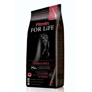 Fitmin For Life Dog Adult Lamb & Rice