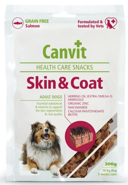 Canvit Snack Skin&Coat