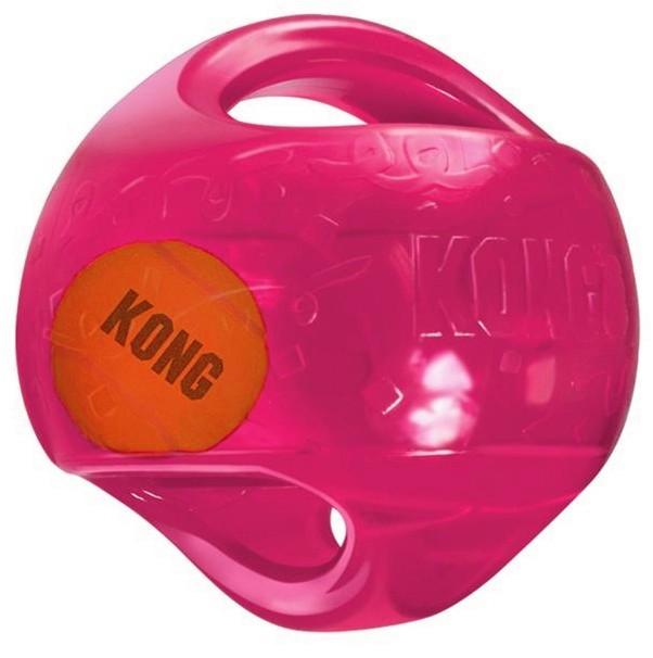KONG míč Jumbler s tenisákem L/XL