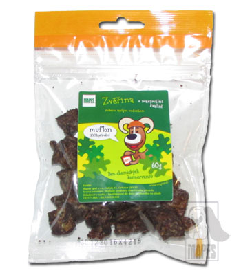 Mufloní kousky - 60 g, Mapes