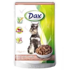 Dax Dog kapsa - hovězí a králík 100 g