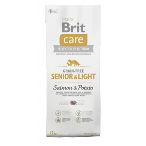 Brit Care Dog Grain Free Senior&Light Salmon & Potato