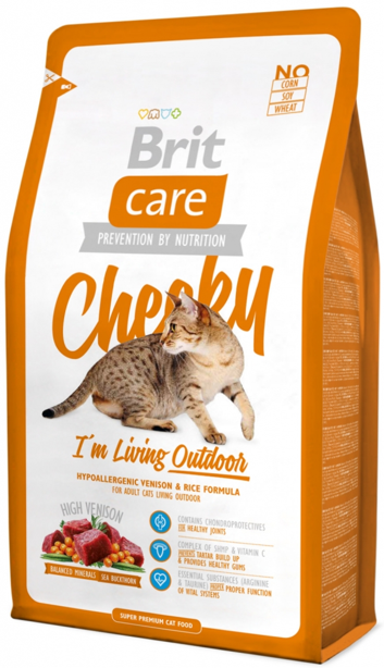 Brit Care Cat - Cheeky, I´m Living Outdoor