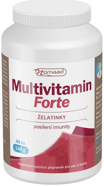 Nomaad Multivitamin Forte - Želatinky, 40 ks (140 g)