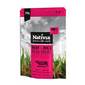 Nativia Real Meat Beef & Rice