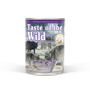 Taste of the Wild Sierra Mountain - 375 g
