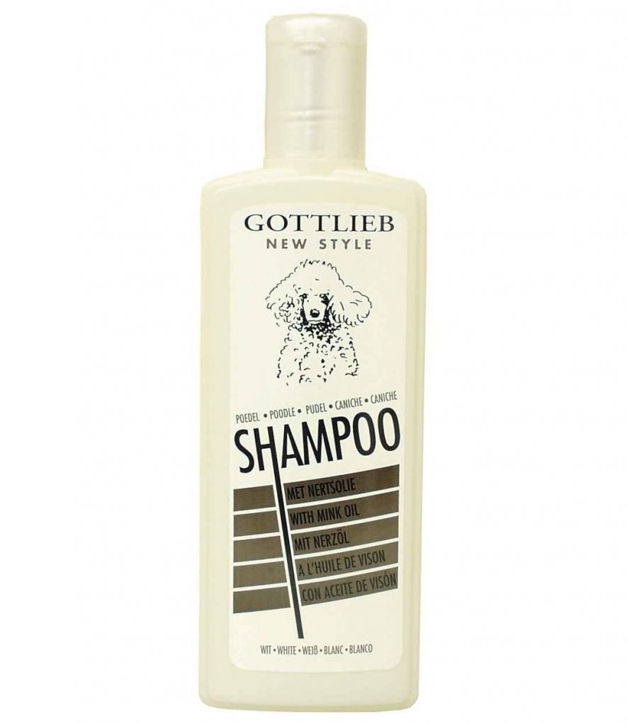 Gottlieb šampon - pro bílé pudly - 300 ml
