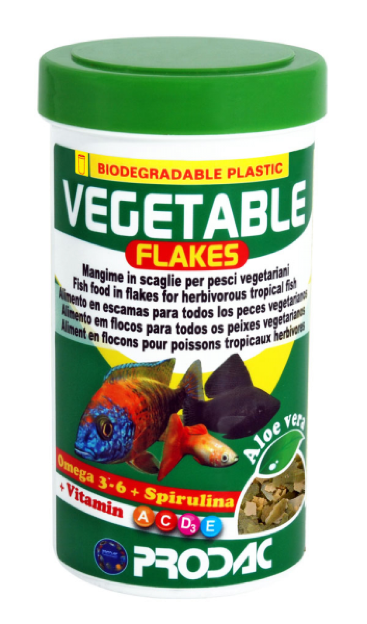 Prodac Vegetable Flakes