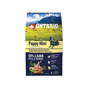 Ontario Puppy Mini Lamb&Rice