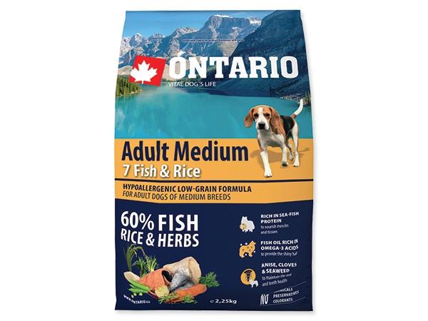 Ontario Adult Medium Fish&Rice
