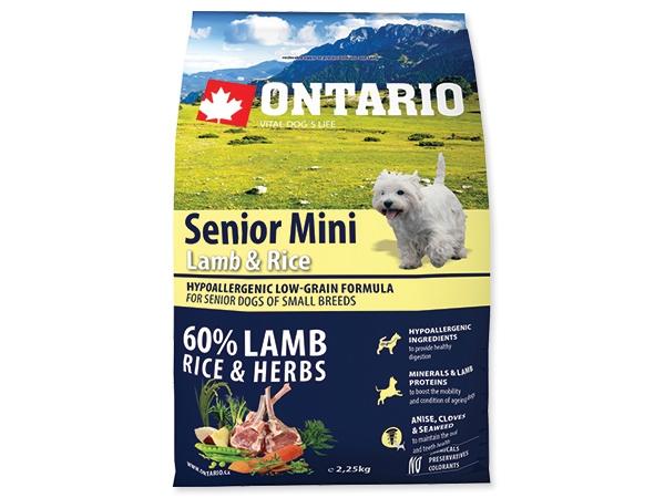 Ontario Senior Mini Lamb&Rice