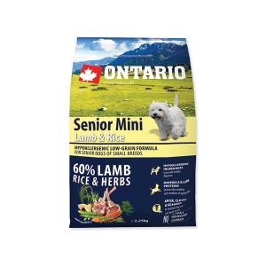 Ontario Senior Mini Lamb&Rice