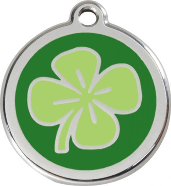 Identifikační známka - čtyřlístek zelený