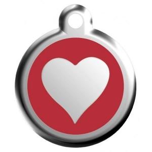 Identifikační známka - srdce