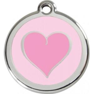 Identifikační známka - srdce II