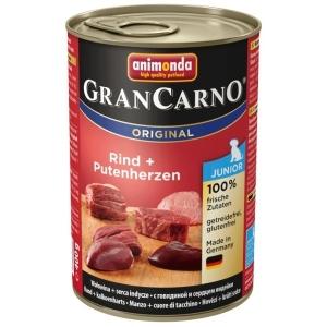 GranCarno Junior - hovězí a krůtí srdce