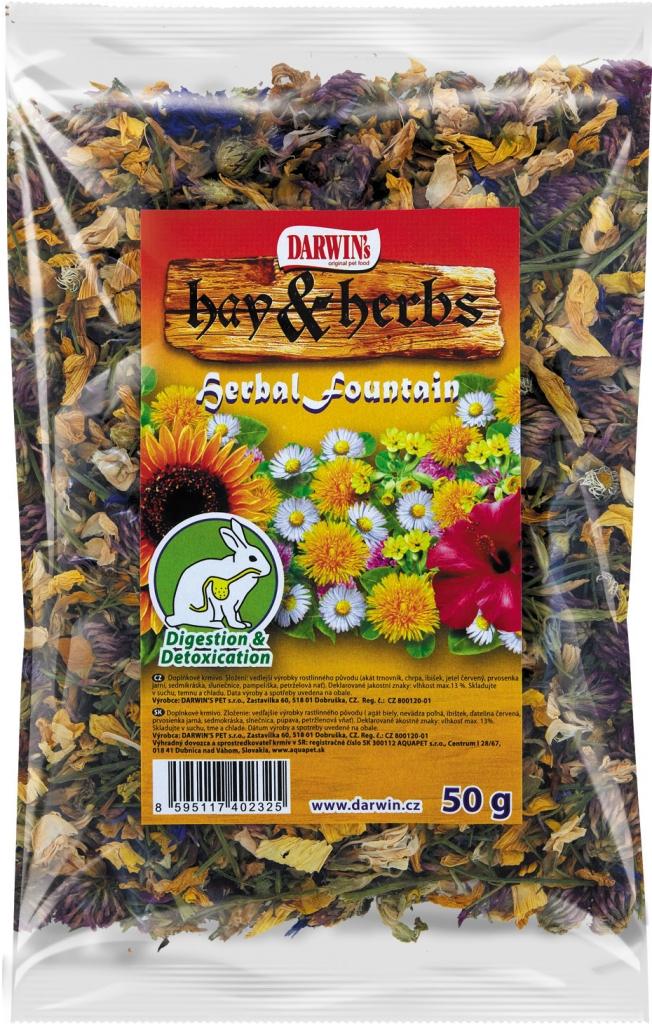 Darwins Hay & Herbs - teeth & hair