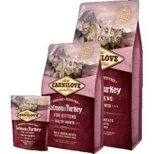 Carnilove Cat Kitten Salmon & Turkey-Healthy Growth (Losos a Krocan)