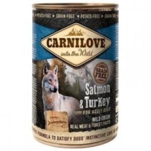 Carnilove dog 400 g - Salmon & Turkey