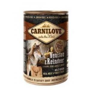 Carnilove dog 400 g - Venison & Reindeer