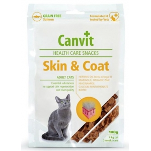 Canvit Snack Cat Skin & Coat  - 100 g