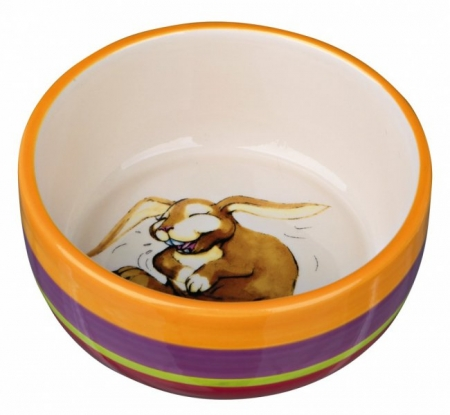Miska keramická s motivem králíka 250 ml/ 11 cm